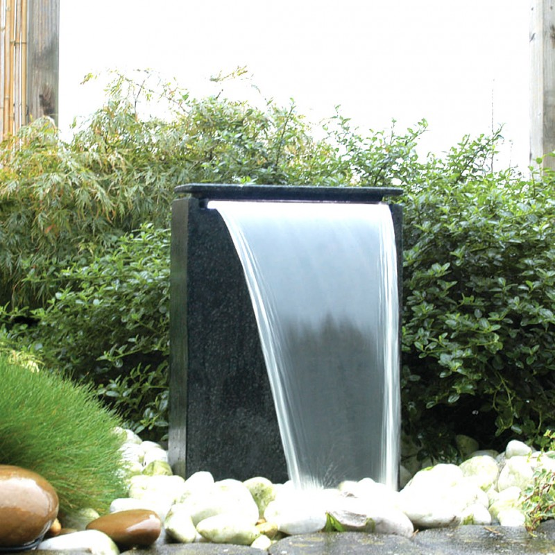 fontaine de jardin vicenza kit complet avec pompe et bassin ubbink. Black Bedroom Furniture Sets. Home Design Ideas